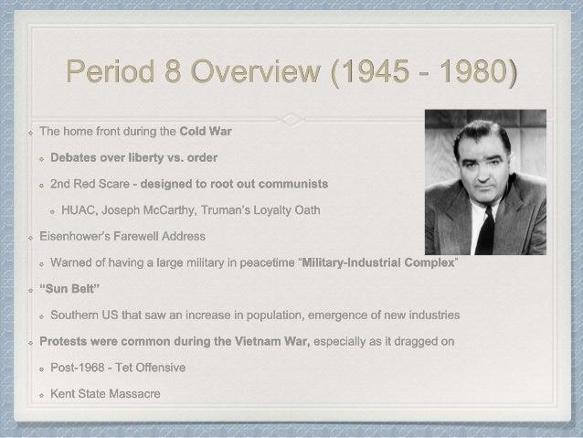 Apush review-part-ii-1865-present-periods-6-9