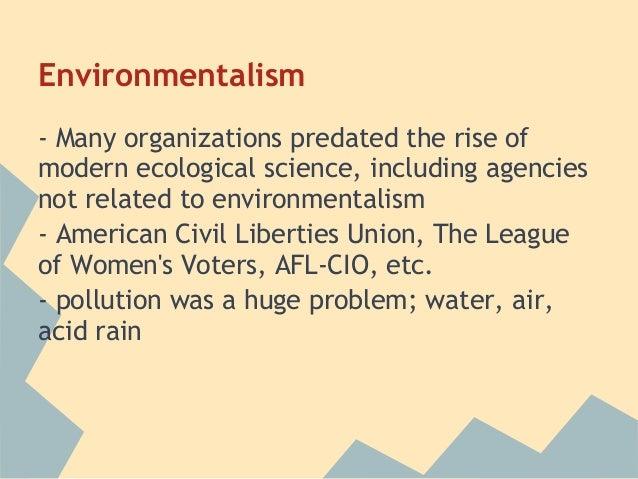 environmental protection agency apush
