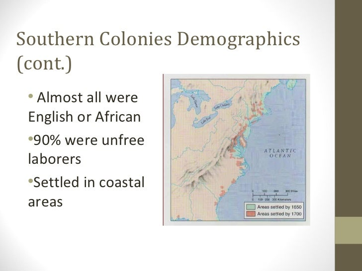 southern colonies government