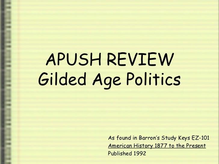 gilded age apush