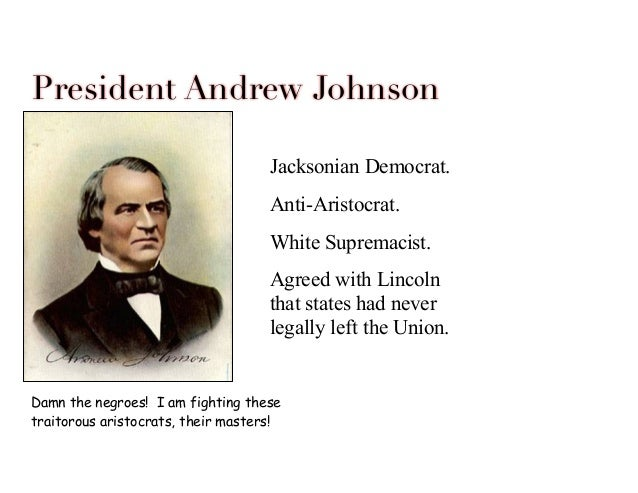 johnsons impeachment apush
