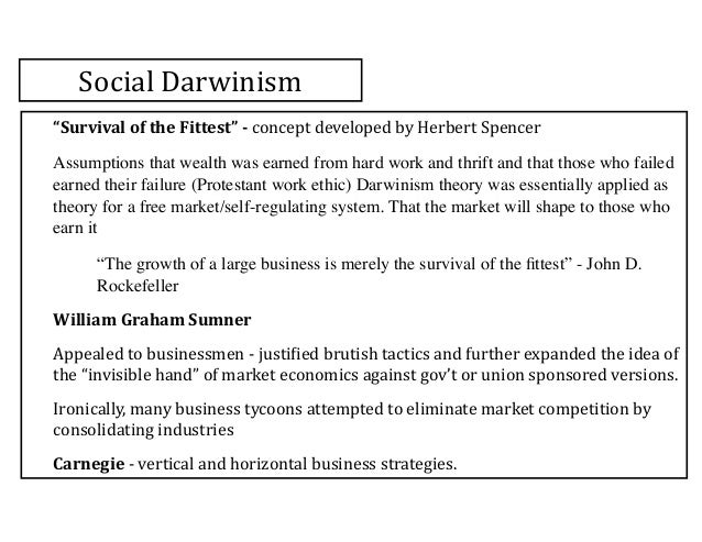 social darwinism in american society This so-called social darwinism offered an the social gospelers believed that if american society were the influence of the social gospel in american.