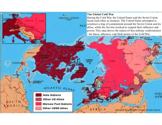 APUSH Lecture Ch - Map of us allies and enemies