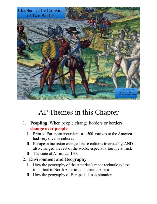 ap us history 1 Ap's high school united states history course is a rigorous, college-level class that provides an opportunity to gain skills colleges recognize.