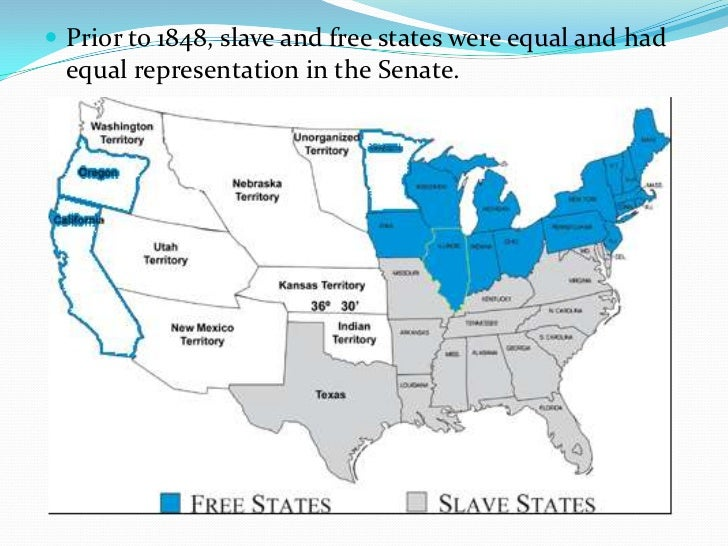 manifest destiny slavery and breakdown union In the time that lead up to the missouri compromise, pro and anti slavery states had been creating rising tensions across the country and in the us congressafter missouri's request to enter the union as a slave state in 1819, the balance between slave states and free states was severely upset.