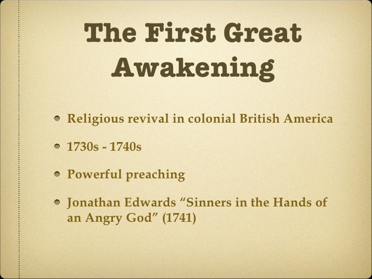 the effects of the great awakening on religion By the end of this section, you will be able to: explain the significance of the great awakening describe the genesis, central ideas, and effects of the enlightenment in british north america.