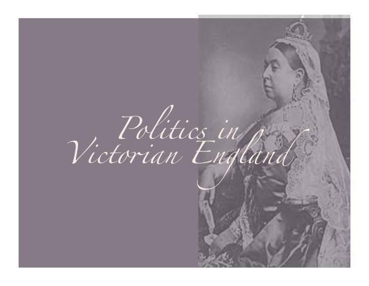 "Politics inVicto""an England"