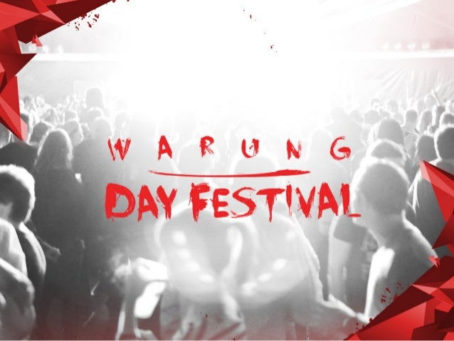 O Warung Day Festival é um dos principais eventos de música eletrônica do país. São 5 pistas e inúmeras atrações musicais ...
