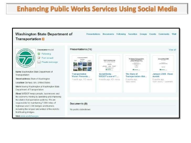Using public services