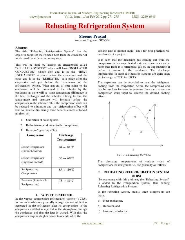 International Journal of Modern Engineering Research (IJMER) www.ijmer.com Vol.2, Issue.1, Jan-Feb 2012 pp-271-275 ISSN: 2...