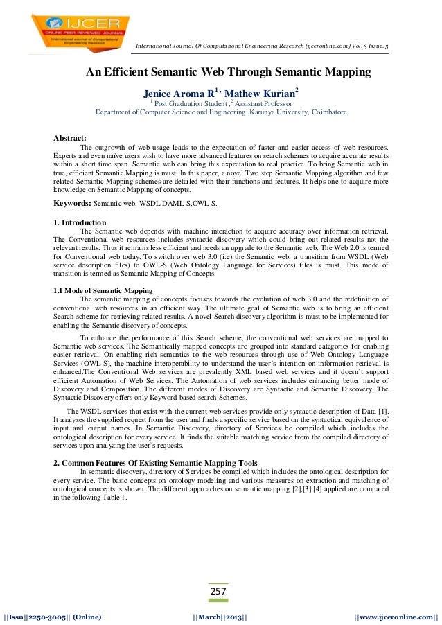 International Journal Of Computational Engineering Research (ijceronline.com) Vol. 3 Issue. 3257||Issn||2250-3005|| (Onlin...