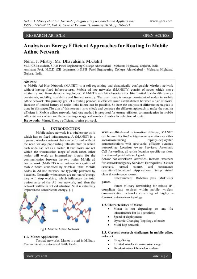 Neha. J. Mistry et al Int. Journal of Engineering Research and Applications ISSN : 2248-9622, Vol. 4, Issue 1( Version 3),...