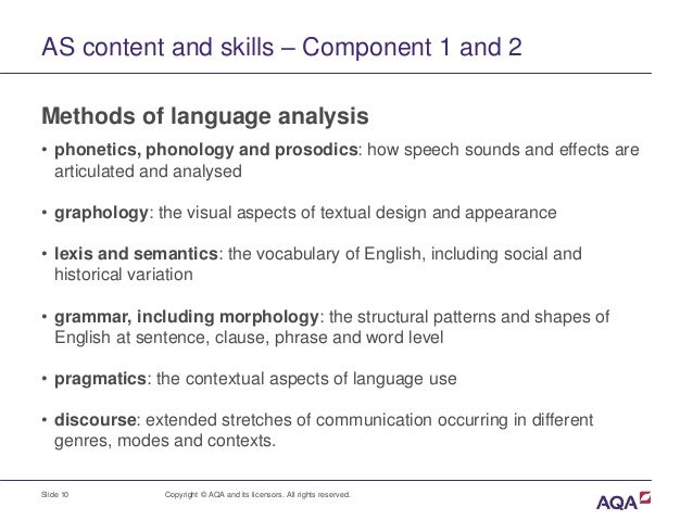 an analysis of the various communication skills used in english grammar Pre-employment grammar tests are most useful for positions that require a lot of written communication when assessing basic grammar skills, some employers use the criteria basic skills test (cbst) , a 20 minute test that determines job readiness and trainability by measuring basic verbal, math, and communication skills.