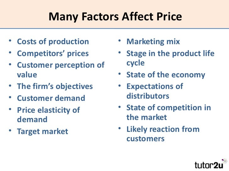 factor and product relationship marketing