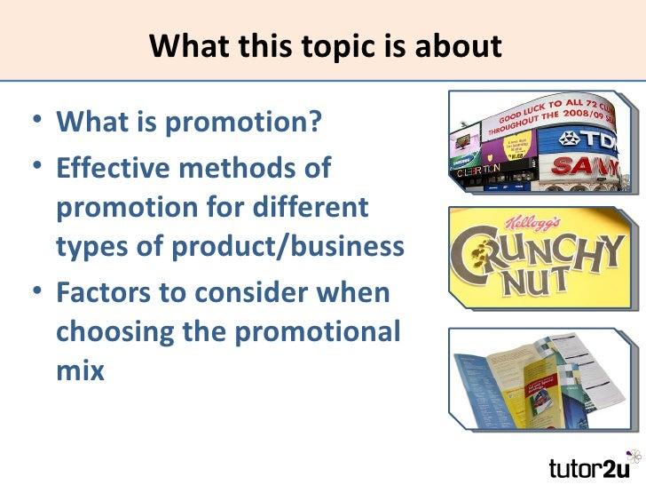 Marketing - Promotion Slide 2