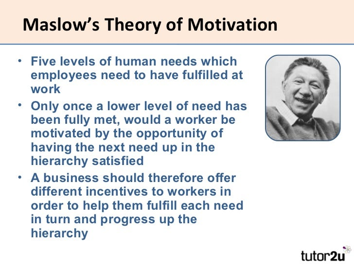 difference between taylor and maslow theory of motivation Nonprofit, educational purposes if it is copied in its entirety and the journal is   herzberg's theory of motivation and maslow's hierarchy of needs.