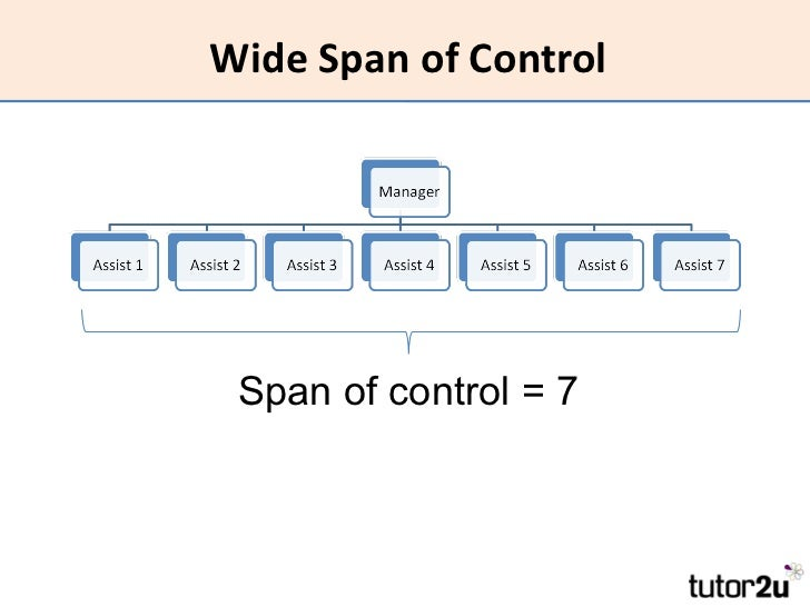 Hrm organisational structure wide span of control span of control 7 publicscrutiny Image collections