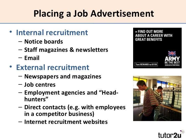 job advertising ideas