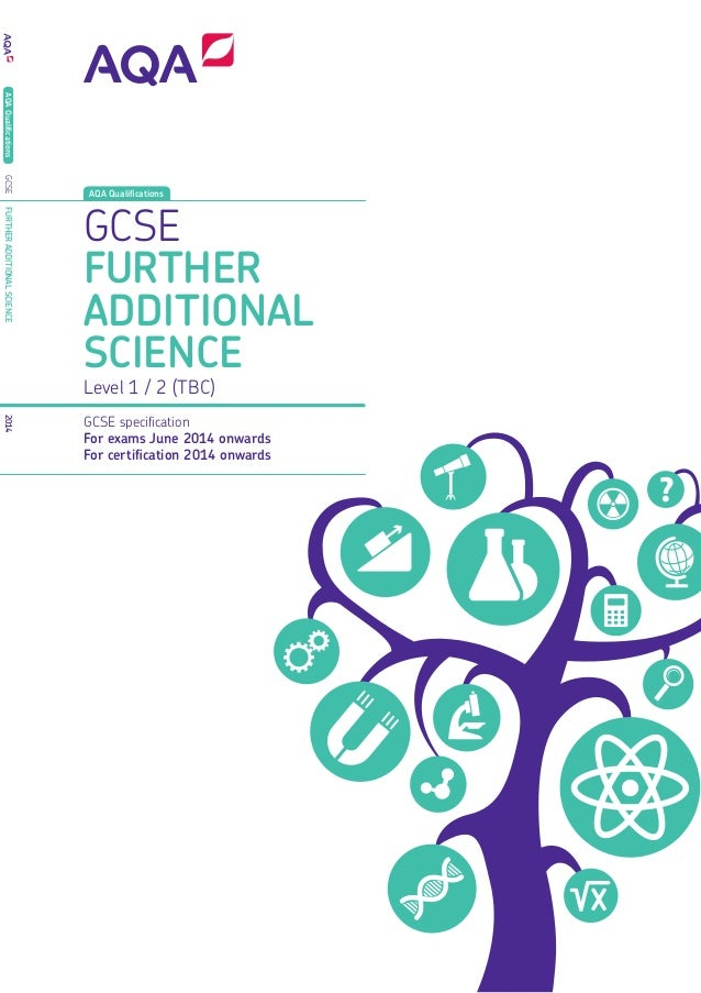Aqa further additional science