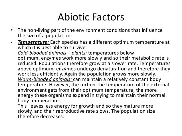 how do abiotic factors influence the rate of photosynthesis Abstract the purpose of this experiment is to observe the factors affecting the photosynthetic rate of leaves, which is measured in two ways.