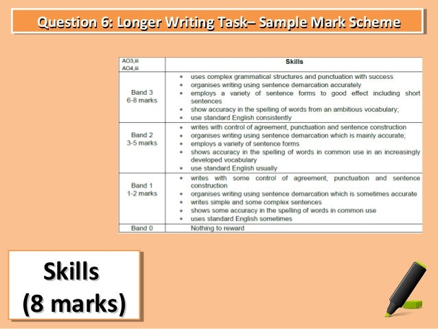 Gcse english creative writing coursework mark scheme   daviedance com