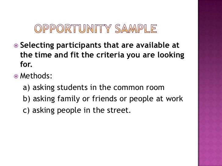 Aqa research methods 1