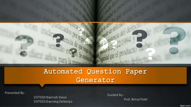 automated research paper generator Essay creator fx is an automated writing software designed to make your essay & assignment writing lot easier by helping your essay research,  bibliography generator.