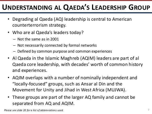 al qaeda and their beliefs This article examines the nature of religious terrorism, principally with reference to al-qaeda it argues that a distinction must be made between the ultimate aims and the immediate objectives of 'religious' terrorists, and that while the ultimate.
