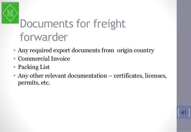 Simple Free Invoice Template Excel Basics Of Import  Taxi Receipt Printer Word with Petty Cash Receipt Pdf   Documents For Freight Forwarder  Any Required Export Documents  From Origin Country  Commercial Invoice  Yahoo Email Read Receipt Excel