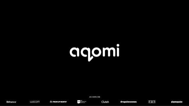 Aqomi - Design & Branding Portfolio