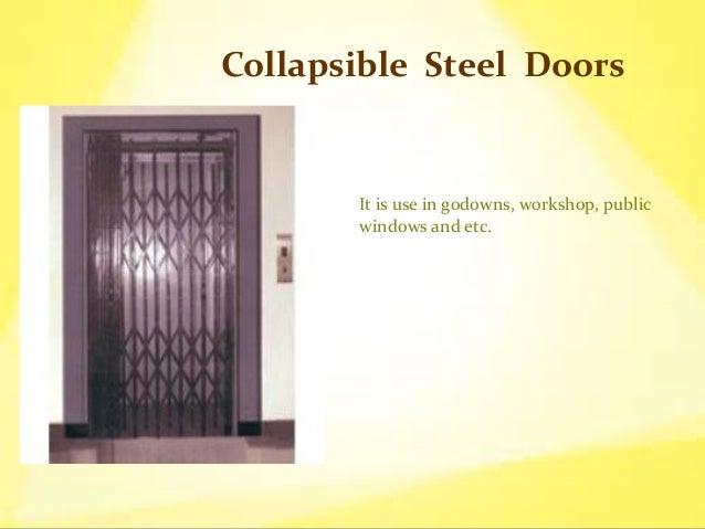 ... Metal Doors Types of doors mainly comes in metel; 5. & Types of Steel Doors pezcame.com