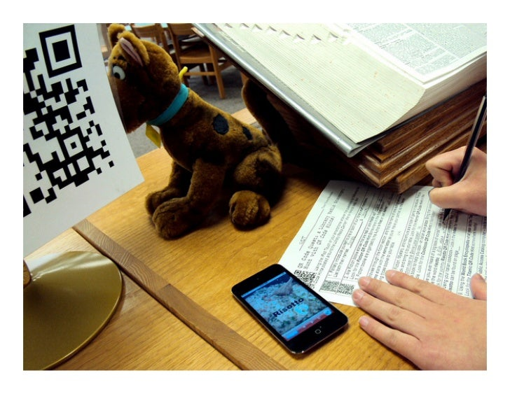 QR Codes in the Classroom & the Library, too!