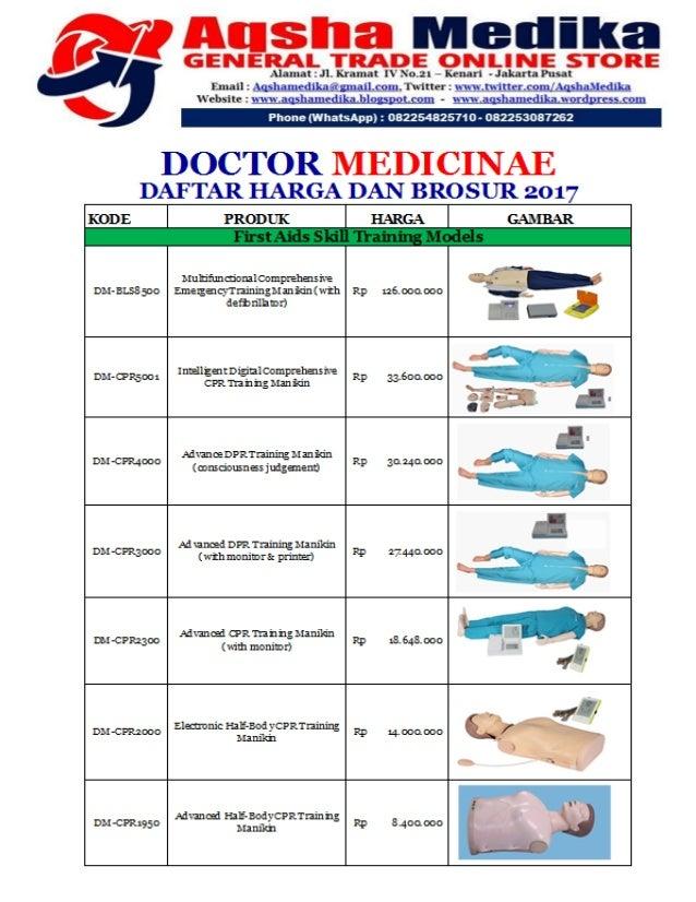 Brosur dan Harga Phantom Doctor Medicinae (Hal-001)