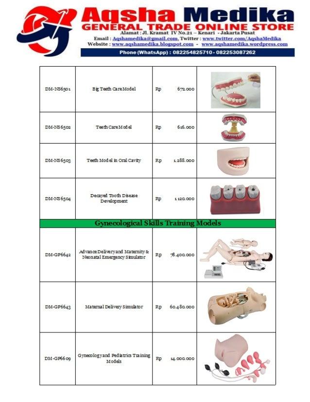 Brosur dan Harga Phantom Doctor Medicinae (Hal-11)