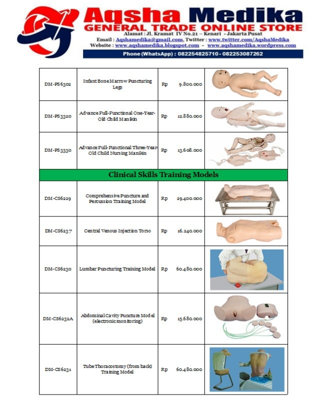 Brosur dan Harga Phantom Doctor Medicinae (Hal-17)