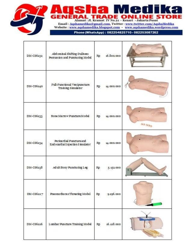 Brosur dan Harga Phantom Doctor Medicinae (Hal-18)