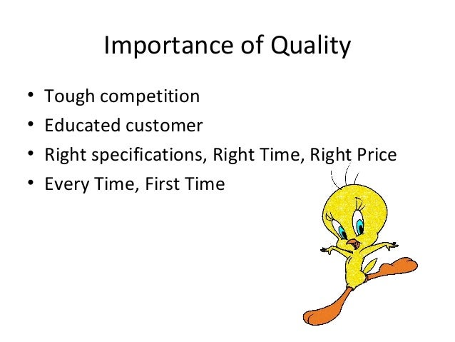implementation of quality Objectives: the aims of the study were to explore the extent of total quality management (tqm) implementation in hospitals and its association with demographic variables.
