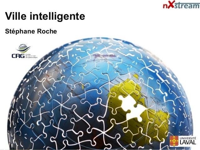 Ville intelligente Stéphane Roche