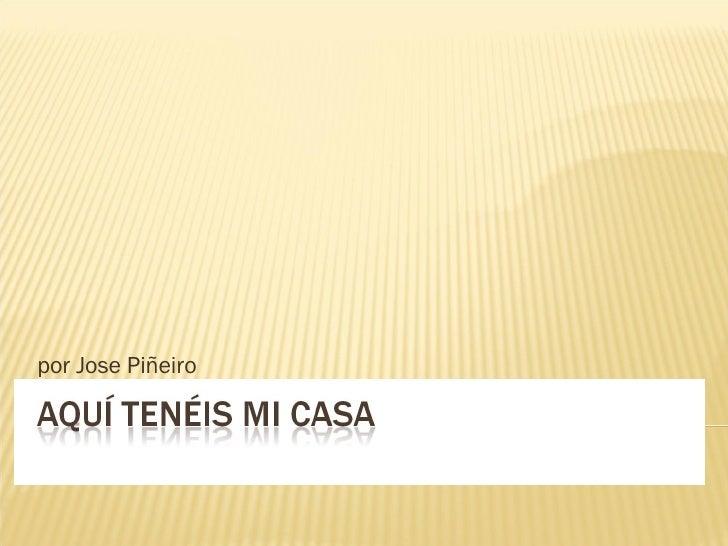 por Jose Piñeiro