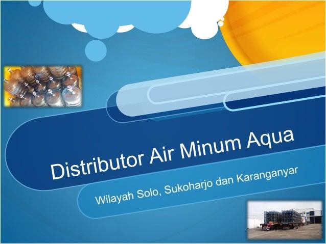 Xplod Company Mendistribusikan Produk Air Minum Dalam Kemasan Merk Aqua
