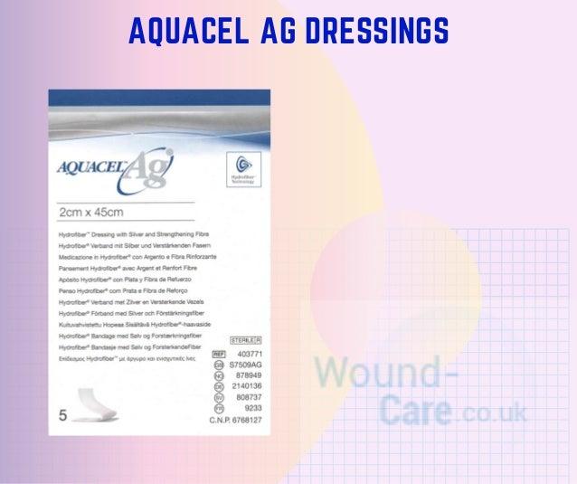 AQUACEL AG DRESSINGS