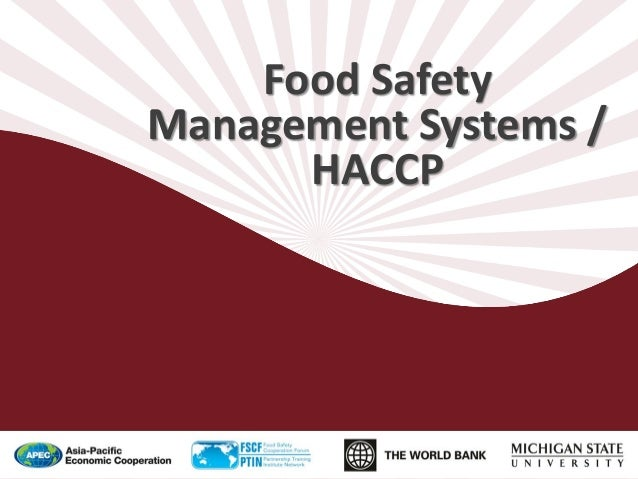 Aquaculture 5 - Food Safety Management Systems 2013