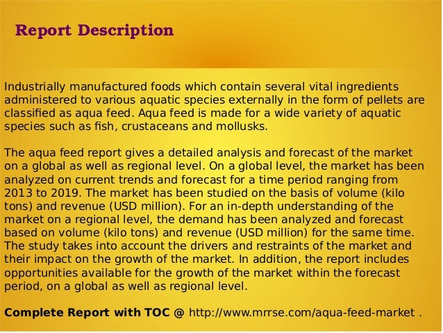 market analysis aqua feed market global The global animal feed micronutrients market is expected animal feed micronutrients market analysis by • aqua feed is expected to grow at a cagr of 5.