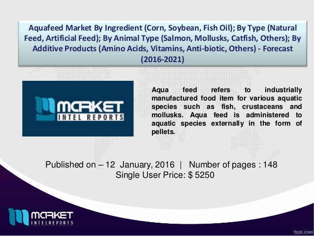 In-Depth Analysis of the Market Landscape of Aquafeed Industry