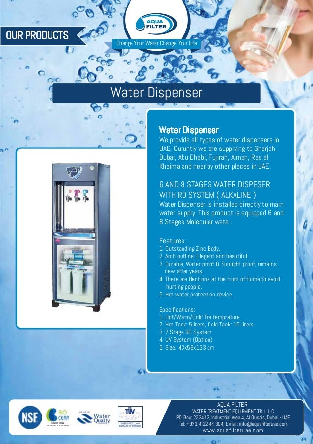 Aqua Filter Water Purification And Water Filtration