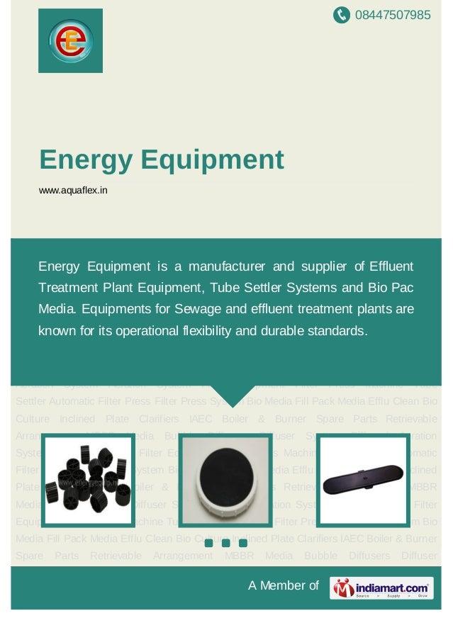08447507985A Member ofEnergy Equipmentwww.aquaflex.inMBBR Media Bubble Diffusers Diffuser System Diffused Aeration System ...
