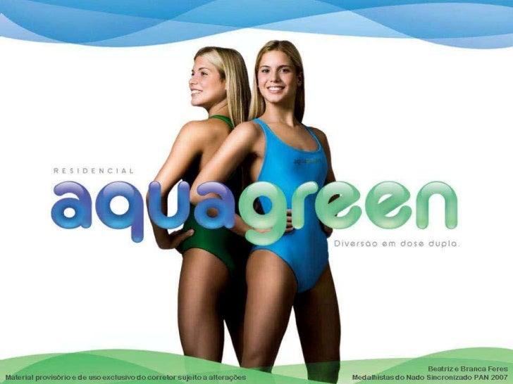 Aquagreen, Apartamento de 2 e 3 Quartos na Barra
