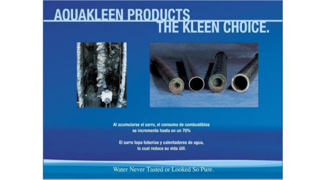 Aquakleen Products Reviews Slide presentation 2