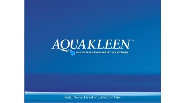 Aquakleen Products Reviews Presentation - Intro 1
