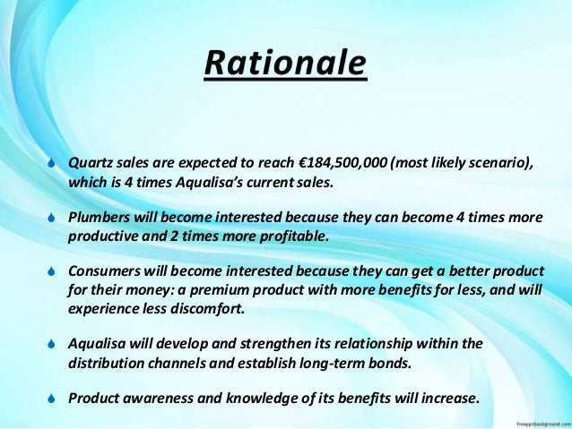 analysis aqualisa quartz simply a better shower essay Aqualisa quartz: simply a better shower case executive summary 1118 words  feb 4th, 2007 5 pages situation aqualisa quartz, a significantly innovative.